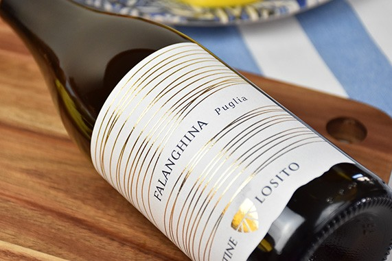 vino bianco falanghina
