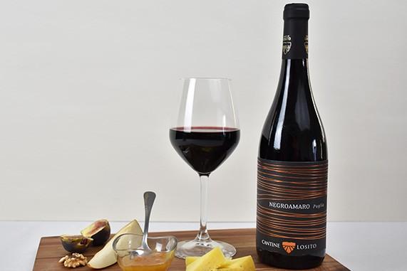 vino rosso negroamaro