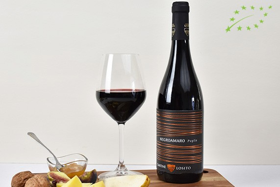 vino-rosso-negramaro-bio