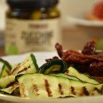 zucchine sott'olio grigiate