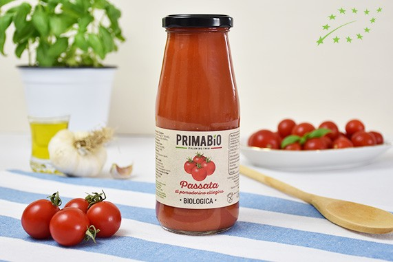 Passata di Pomodorino Ciliegino Bio-00