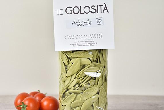 foglie di ulivo agli spinaci