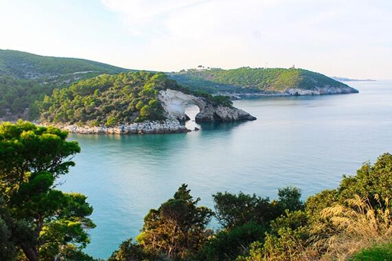 paesaggio della Puglia