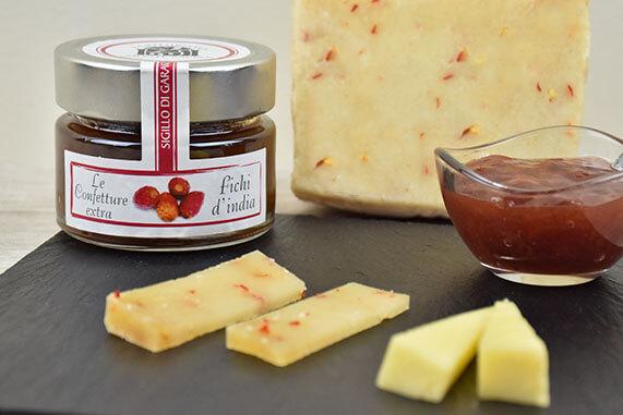 confettura di fichi d'india per formaggi