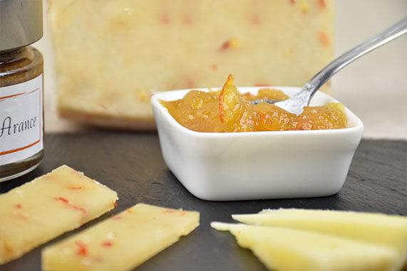 marmellata di arance per formaggi