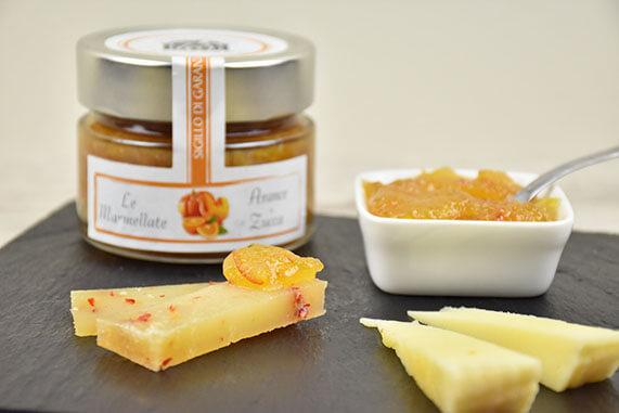 marmellata di arance e zucca per formaggi